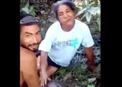 Real Incest in the jungle between Grandmother and Grandson