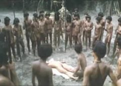 Cannibal Tribes in Forced Sex Scenes from Movies